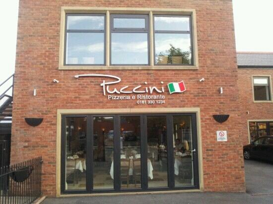 Ashton-under-Lyne, UK: puccini. best Italian by far.