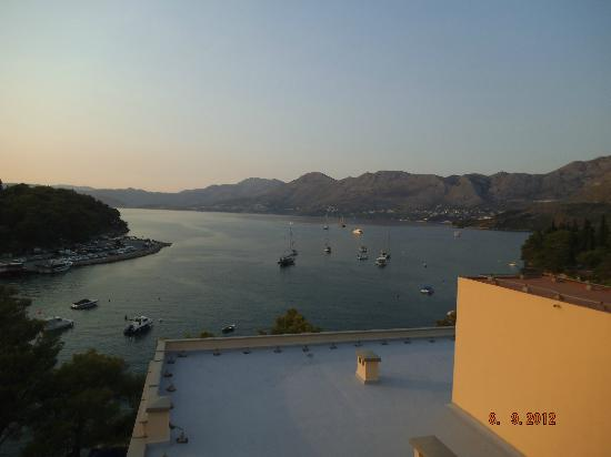 Hotel Cavtat: view from hotel roof