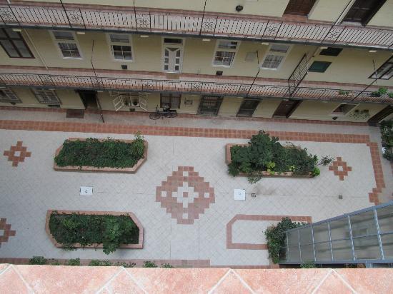 Silver Hotel Budapest : Cortile interno