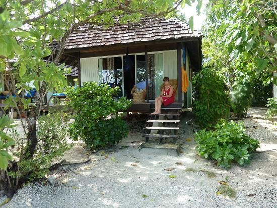 Pension Cecile : le bungalow sur pilotis