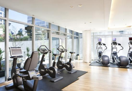 Rosewood Hotel Georgia: Fitness Centre