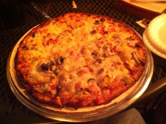 Willard Restaurant: veggie thin crust