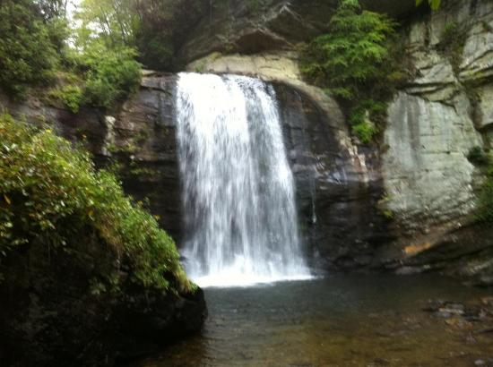 Pisgah Forest, Carolina del Norte: Looking Glass Falls