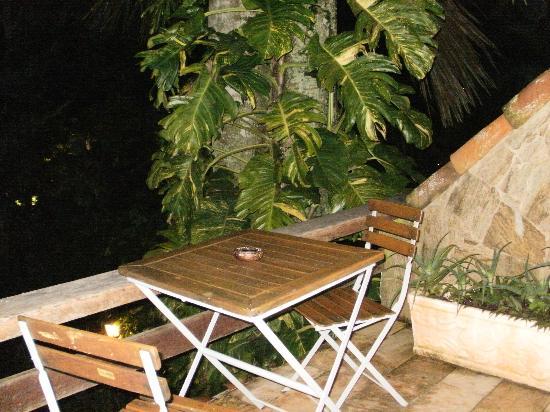 Pousada Byblos: Balcón de la habitación
