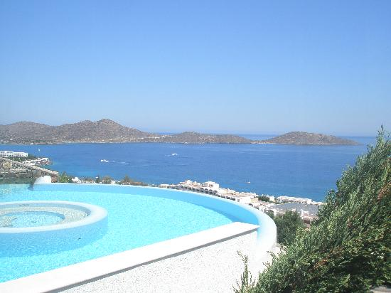 Elounda Gulf Villas & Suites: Our private pool