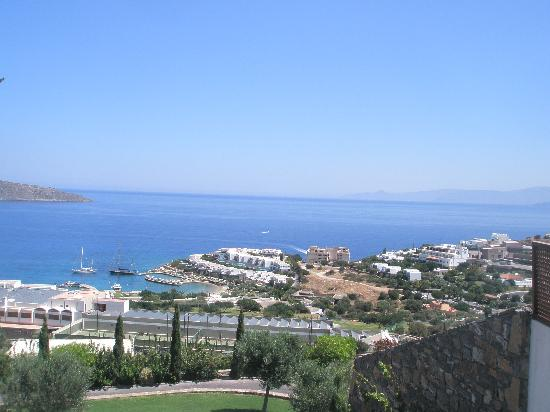 Elounda Gulf Villas & Suites: View from our villa