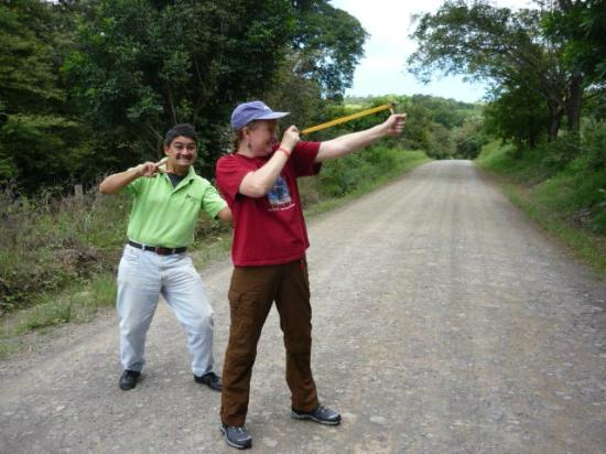 Costa Rica Best Trips: sling shot fun