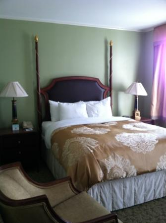 Francis Marion Hotel: bed