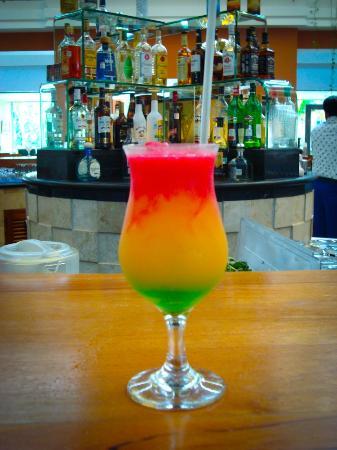 Iberostar Grand Hotel Paraiso : Riviera Maya signature drink! Sweet and Tasty