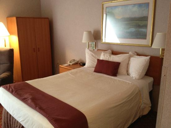 Settle Inn & Suites La Crosse: Bedroom