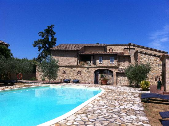 I Melograni del Chianti: Lovely swimming pool!