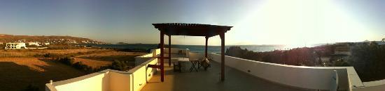 Acti Plaka Apartments: Dachterrasse für ALLE, feiner Ausblick