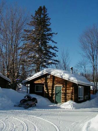 Glenview Cottages: Winter Exterior Cottage