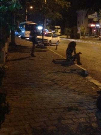 Angora Otel: prostitutes outside hotel