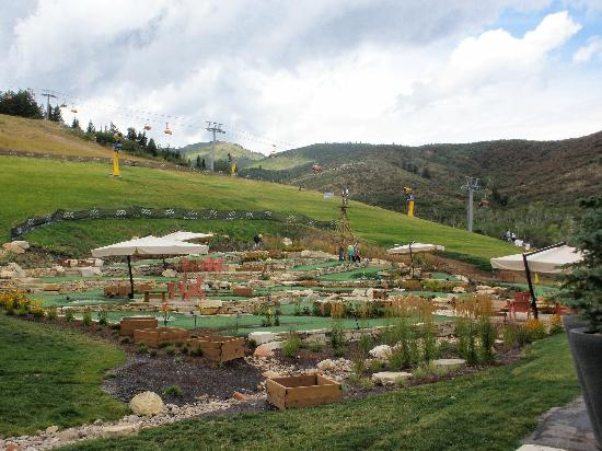 Sundial Lodge at Canyons Village: mini golf
