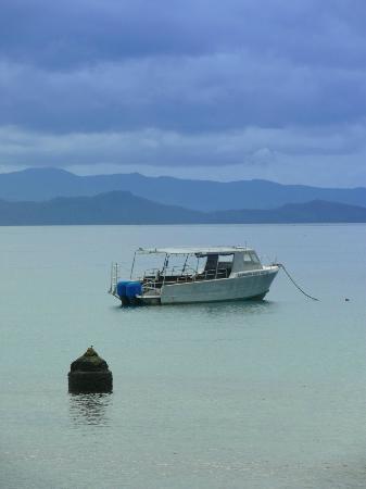 جاردن أيلاند ريزورت: Dive Boat Waiting 