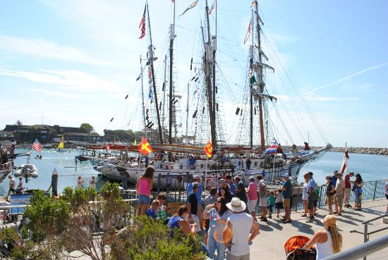 Dana Point, Kaliforniya: Sail Ships at the Ocean institute Festival