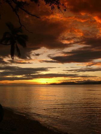 Garden Island Resort: Spectacular Sunset