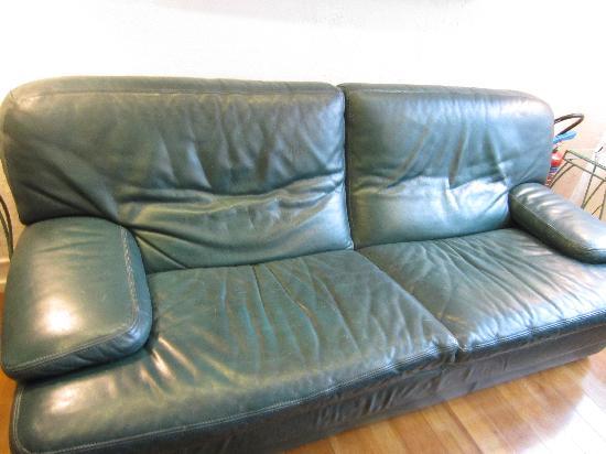Hotel De La Plage : sofa