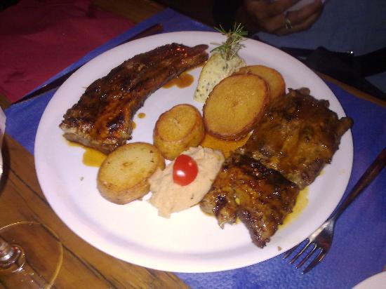 Costa Marina : travers de porc au miel !! extra