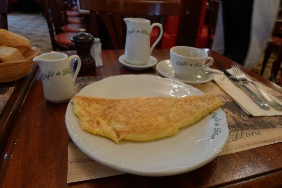 Cafe Flore Brunch Menu