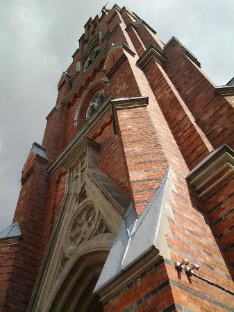 Lund, Sweden: Udenfor kirken