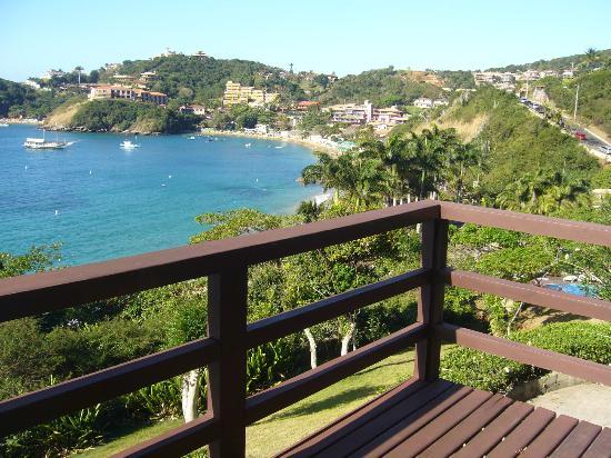 La Boheme Hotel e Apart Hotel: vista desde el balcon del living