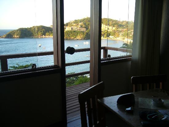 La Boheme Hotel e Apart Hotel: vista desde el living 