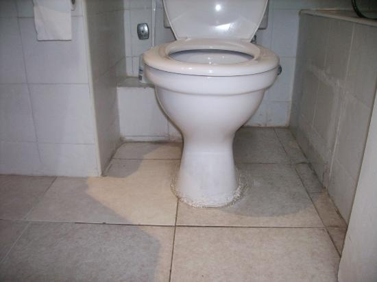 Panareti Paphos Resort: Filthy toilet