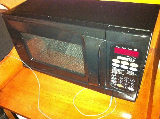 Days Inn Encinitas- Legoland Moonlight Beach: Microwave in room
