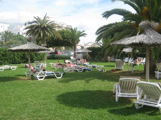 Hotel Gran Sol Ibiza: A lazy afternoon in the garden.