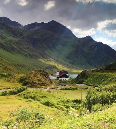 Alpengasthof Zeinisjoch: surrounding area