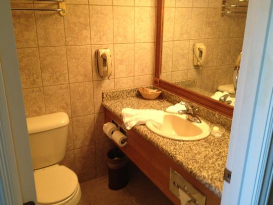 Portside Suites: Bathroom has shower as well