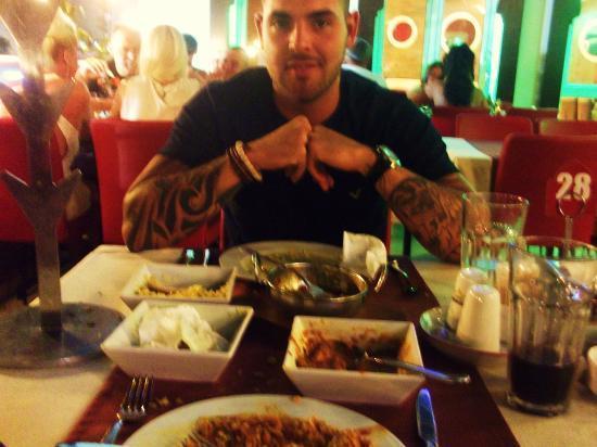 ... Mushroom Rice - lovely stuff- マルマリス、The Taj Mahalの写真