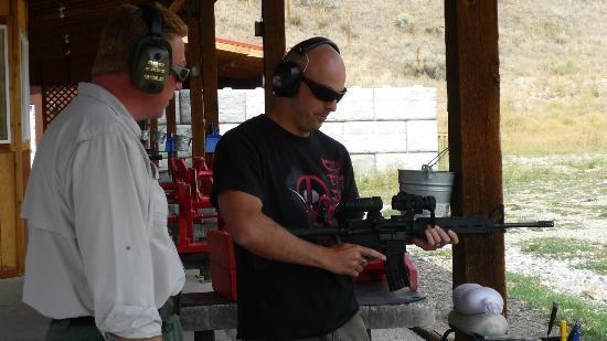 Jackson Hole Shooting Experience : AR-15