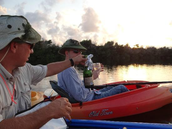 Tour the Glades - Private Wildlife Tours: Celebration with champagne