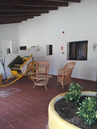 Matchani Gran: Terraza habitaciones Sur
