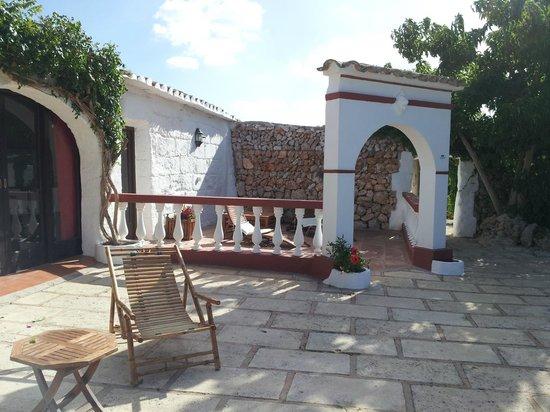 Matchani Gran: Zona terraza al lado de piscina