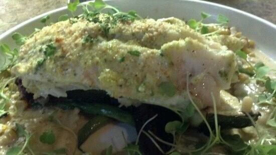 Amesbury, MA: Fresh baked haddock