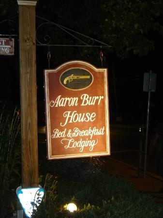 New Hope's 1870 Wedgwood Bed and Breakfast Inn: The Aaron Burr House