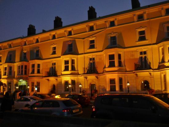 Merrion Hotel at night