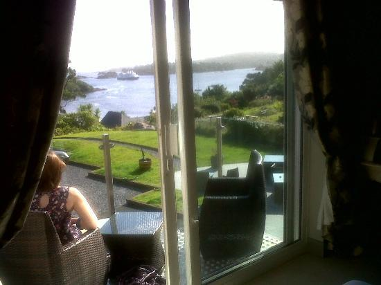 Bay View Boutique Guest House: View from bedroom overlooking bay
