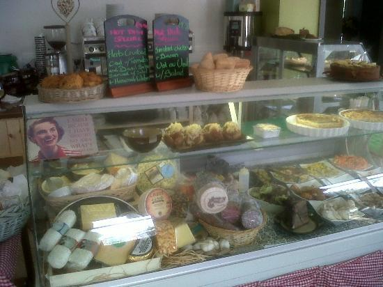 Bay View Boutique Guest House: Great cheese selection