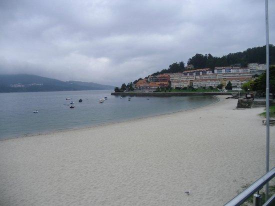 Hotel As Hortensias : Vistas desde la Terraza del Hotel