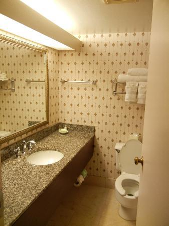 GuestHouse Inn-Bloomington: Bathroom