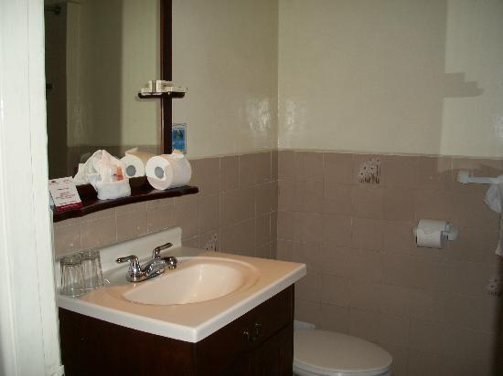 Gran Hotel Costa Rica: Baño