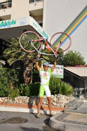 Hotel Adelphi: Cycling Tours Riccione Hotels