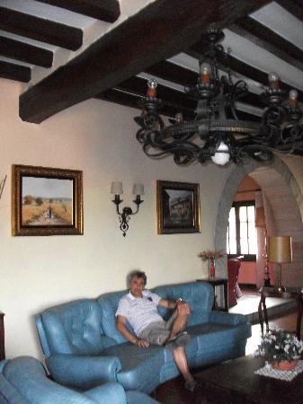 Mas Salvanera: Foto en Living del hotel
