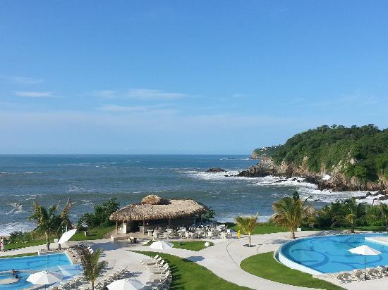 View from room picture of secrets huatulco resort spa for Hotels secrets