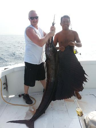 Secrets Huatulco Resort & Spa: 115 lb Sailfish